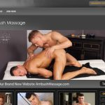 Great paid site featuring stunning gay massage quality porn