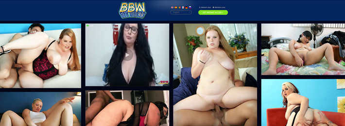 Best adult website offering amazing BBW Hd porn videos